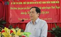Presidente del Frente de la Patria de Vietnam felicita al Día de Vesak 2019