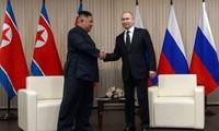 Putin y Kim Jong-un realizan conversaciones sobre la situación en la península coreana