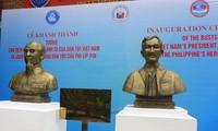 Inauguran en Thai Nguyen bustos de presidente Ho Chi Minh y de héroe filipino José Rizal