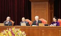 Debaten esquema de documentos presentados en XIII Congreso del Partido