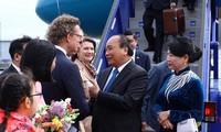 Primer ministro de Vietnam comienza su visita a Suecia