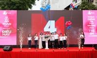 """Lanzan en Hanói programa """"Actuar para niños"""""""