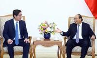 Premier de Vietnam recibe a gran inversor filipino