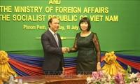 Vietnam y Camboya realizan sexta consulta política