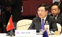 Vietnam promete trabajar para ampliar los lazos entre la Asean y sus socios