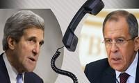 俄美外长就叙利亚问题通电话
