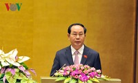 越南国会听取国家主席关于免去政府总理职务的呈文
