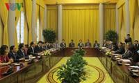 陈大光表示:日本是越南首要和长期伙伴