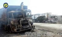 联合国暂停对叙利亚的人道主义援助