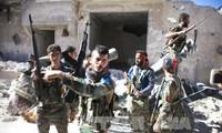 叙利亚政府军进攻阿勒颇行动取得进展