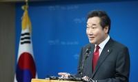 韩国国务总理李洛渊建议与朝鲜进行有条件的谈判