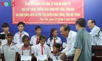 越南政府常务副总理张和平视察朔庄省