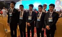 越南队参加第48届国际物理奥林匹克竞赛获4金1银