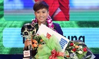 越南女子足球运动员阮氏雪蓉获FIFA表彰
