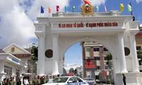 保障2017年亚太经合组织系列会议治安秩序出征仪式在芹苴市举行