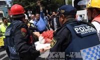 墨西哥大地震:数千人参加抢险救灾 死亡人数高达140人