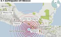 墨西哥地震死亡人数继续上升