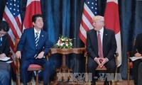 美日承诺就朝鲜问题加强合作