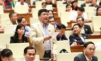 越南国会讨论两项法律草案