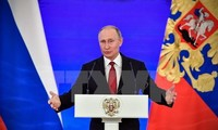 俄罗斯总统普京宣布将参加2018年俄总统选举