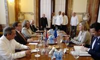 欧盟强调是古巴可信赖的伙伴