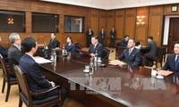 韩朝交换冬奥工作会谈代表团名单