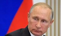 俄罗斯总统普京正式登记竞选总统