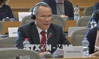 欧洲议会促进批准越欧自贸协定