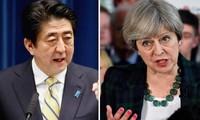 日本和英国同意阻止朝鲜逃避海上制裁