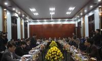 越南政府副总理武德担视察广治省