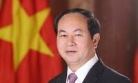 陈大光对印度提出的发展倡议表示欢迎