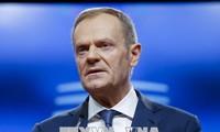 欧洲理事会主席图斯克敦促特朗普重启欧美贸易谈判