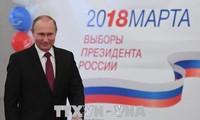 俄总统选举:多个国家承诺加强与俄罗斯关系