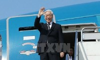 阮富仲即将正式访问法国和国事访问古巴