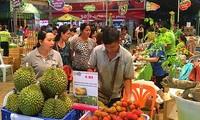 越南最大有机食品生产企业参加越南优质商品博览会