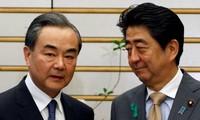 """日本和中国希望双边关系有""""新的开端"""""""