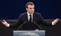 美英法空袭叙利亚:法国总统马克龙承认空袭行动未见效