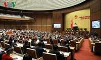 越南14届国会5次会议:国会讨论2017年经济社会发展计划和国家财政预算执行情况