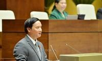 越南国会表决通过2019年法律法令制定计划和调整2018年法律法令制定计划决议