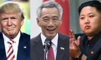 """""""特金会""""前夕新加坡总理李显龙先后会见朝鲜和美国领导人"""