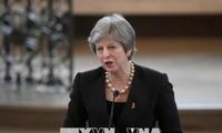 英国脱欧问题:特雷莎•梅赢得投票