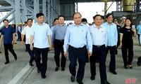 阮春福:台塑钢铁厂要努力减少环境影响