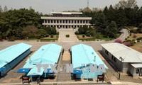 韩朝恢复东海岸军事通信线路