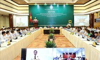 越南政府有关合作社发展政策的视频会议举行