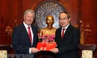 胡志明市与新西兰加强投资、贸易与农业合作
