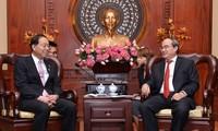 胡志明市希望加强与日本山梨县的合作