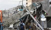 """台风""""飞燕""""致近一百七十名日本人死伤"""