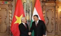 阮富仲圆满结束对俄罗斯和匈牙利的正式访问