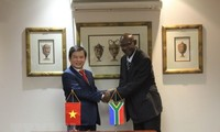 越南与南非签署打击犯罪合作协议备忘录