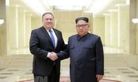 美国国务卿蓬佩奥将于10月7日会见朝鲜最高领导人金正恩